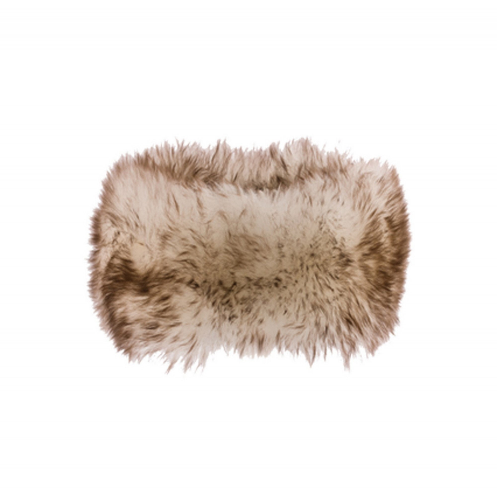 Eastern Counties Leather Womens/Ladies Fergie Sheepskin Headband (One size) (Natural Tipped)