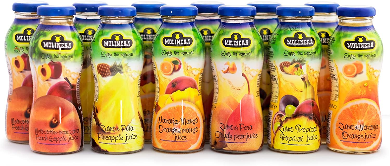 Molinera Zumo Premium 100% Fruta - 12 x 250 ml
