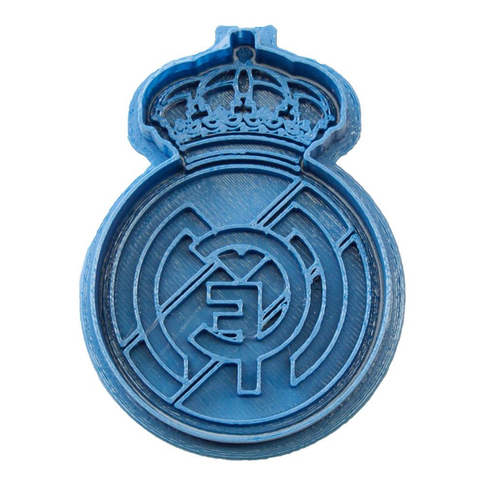 Cuticuter Fútbol Real Madrid Cortador de Galletas, Azul, 8 x 7 x ...