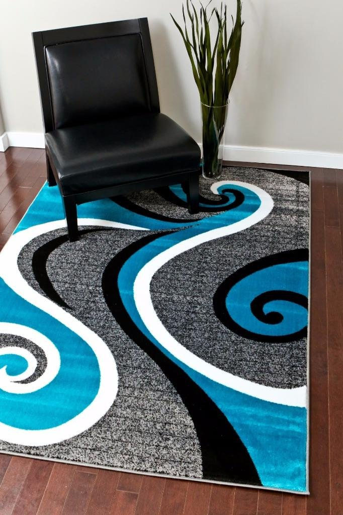 today grey x rug black persian trendz white and overstock free garden shipping area product turquoise gray home modern abstract rugs