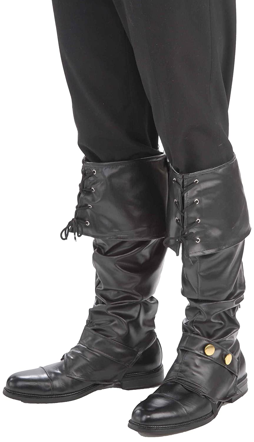 sc 1 st  Amazon.com & Amazon.com: Boot Cover Pirate Costume Accessory: Clothing