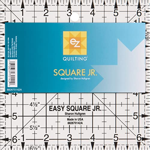 EZ Quilting 882670142A Square Junior Acrylic Template