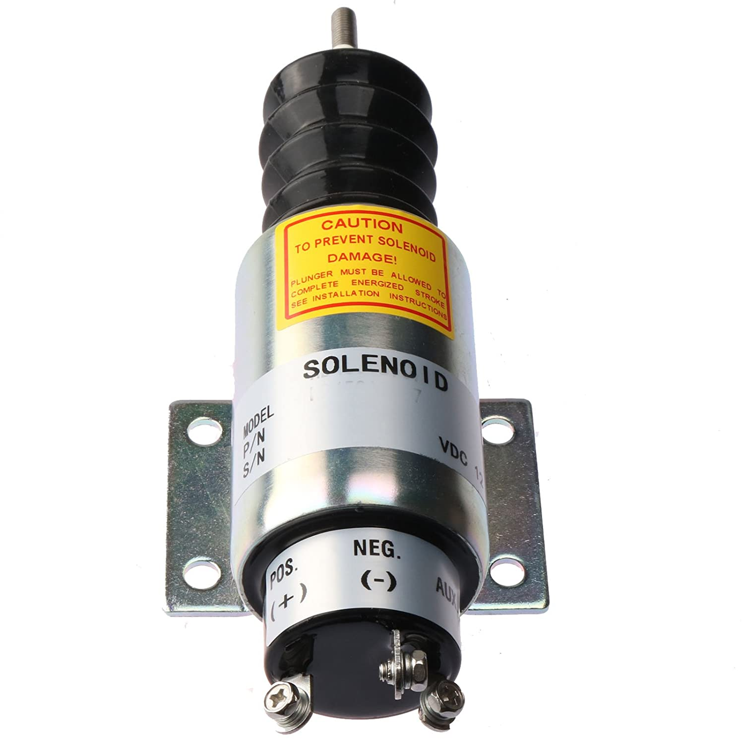 Holdwell Continuous Duty Solenoid 2000-4501 12 Volt 2001 Dual Coils Solenoid