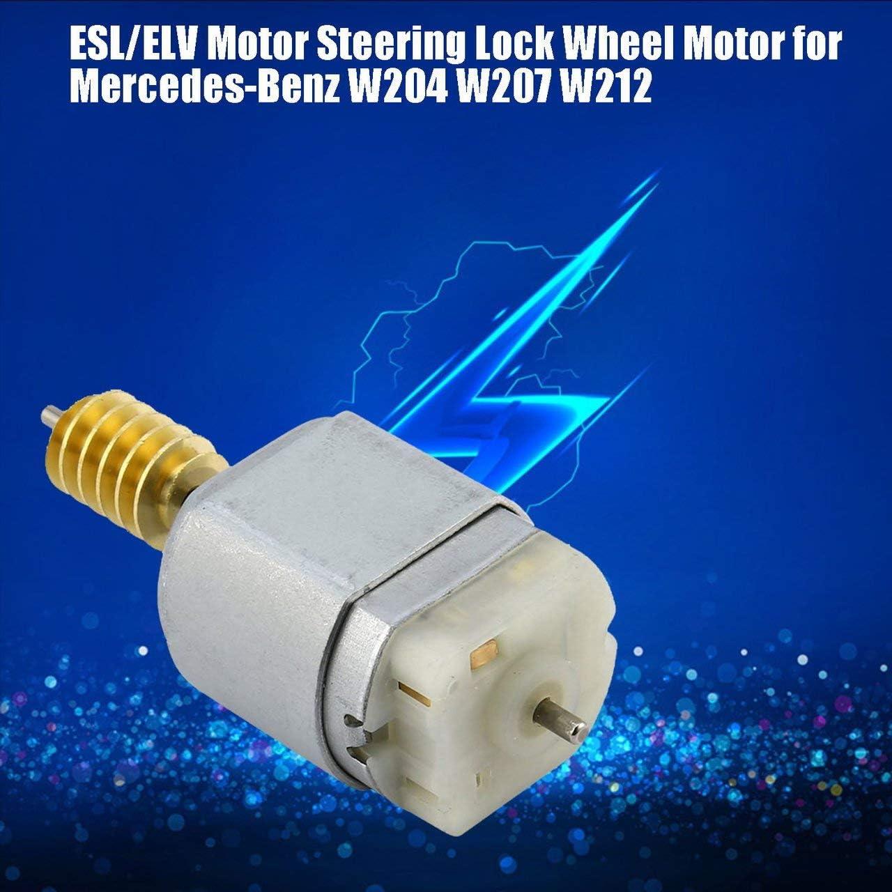 Silber ESL//ELV Motor Lenkradschloss Motoren Zubeh/ör Werkzeuge Ersatz F/ür Mercedes Benz W204 W207 W212 E /& C Serie DEjasnyfall