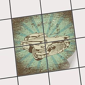 Creatisto Fliesen Aufkleber Folie Sticker Selbstklebend | Fliesentattoo  Dekosticker Küche Renovieren Bad Küchen Ideen |