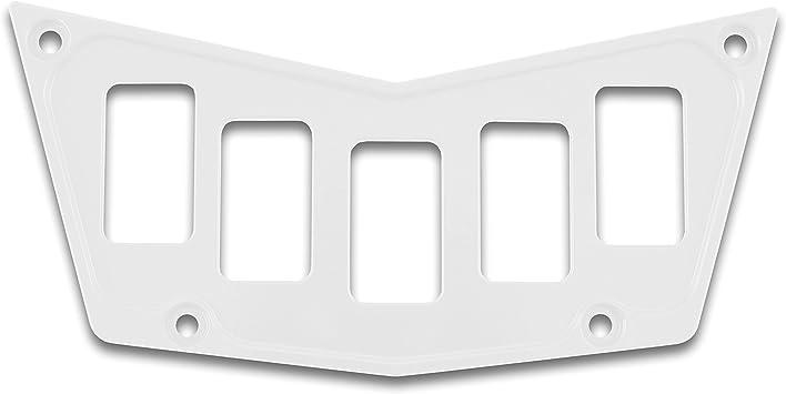 Aluminum Metal 5 Rocker Dash Switch Plate Panel For Polaris RZR 800 900 XP 570