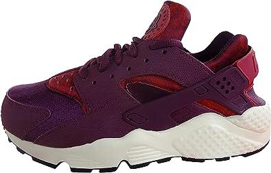 zapatillas huarache purpura