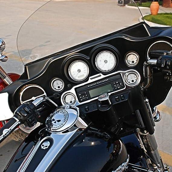 Katur 10 2 Cm Tacho Electra Glide Gauge Cover Harley Road King 5 1 Cm Gauge Road Glide Gauge Burst Bezel Kit Für Harley Street Glide 1996 2013 02 03 04 05 06 07 08 Auto
