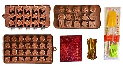 Buy Chocolate Making Kit Starter Silicone Chocolate
