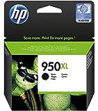 HP 950XL (CN045AE) Cartuccia Originale per Stampanti HP a Getto di Inchiostro, Compatibile con Stampanti HP Officejet Pro 8100, 8600, 8600 Plus, 8610, 8615, 8620, 8640, Officejet Pro mono 251dw e Officejet Pro 276dw, Nero