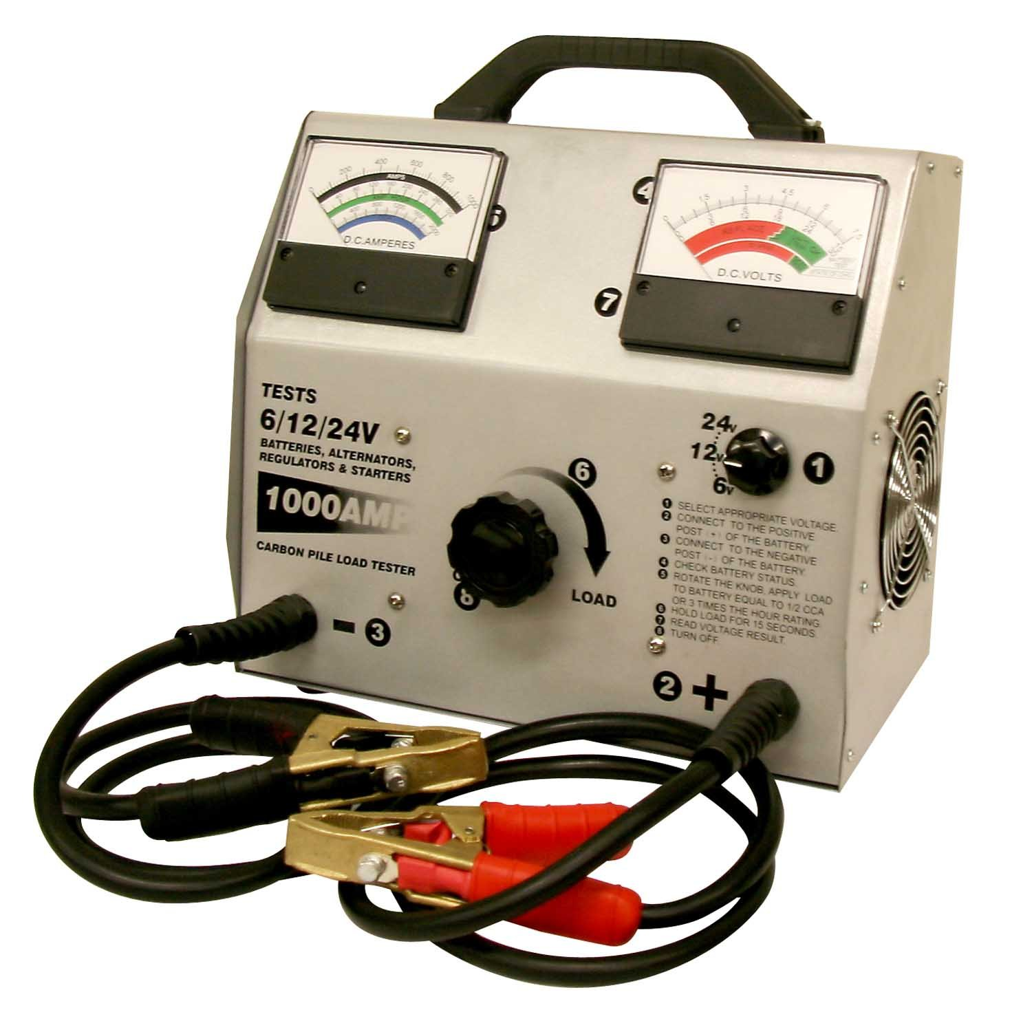 FJC (45118) 1000 Amp Carbon Pile Battery Tester by FJC (Image #1)