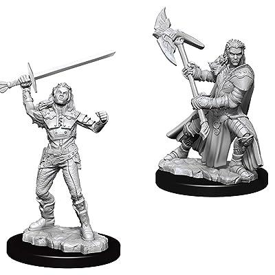 WizKids D&D Nolzur's Marvelous Miniatures - Female Half-Orc Fighter: Toys & Games
