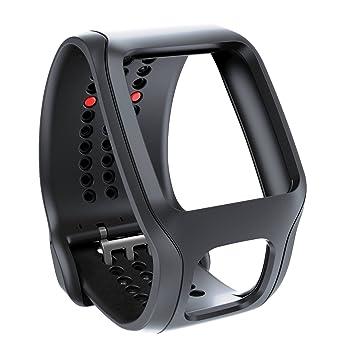 TomTom 9URA.001.02 - Correa para reloj GPS, color negro: Amazon.es: Deportes y aire libre