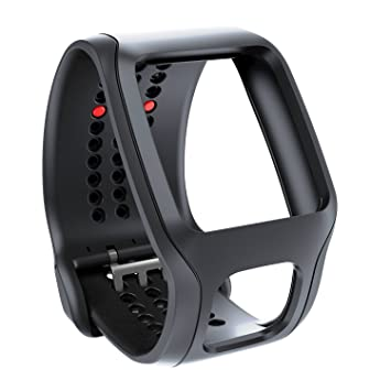 TomTom Bracelet confort pour Runner Cardio et Multi-Sport Cardio Noir (9URA.001.02