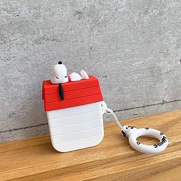 Amazon.com: AirPods - Carcasa de silicona suave a prueba de ...