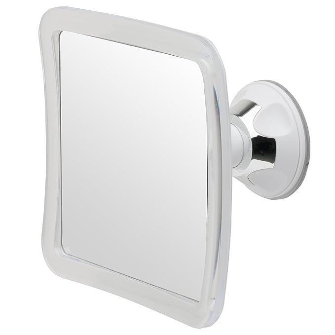 1 opinioni per Doccia senza Nebbia e Specchio per la Rasatura Mirrorvana con Ventosa,