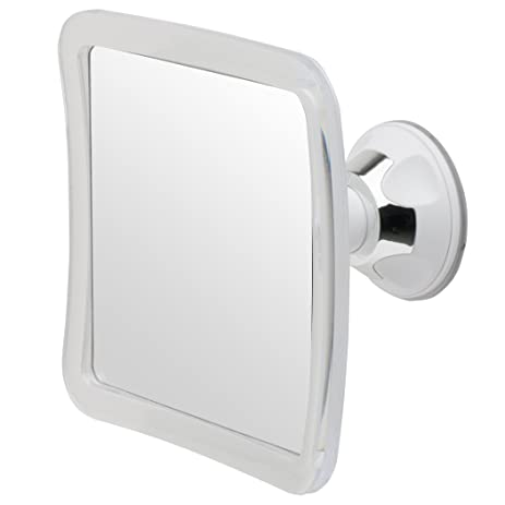 Mirrorvana Fogless Shower Shaving Mirror, 2016 Model, 5.3u0026quot; X 5.3u0026quot;  Surface,