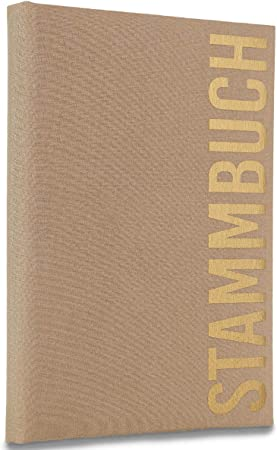 Hochzeitideal Alto - Libro de Familia (Lino), marrón Claro, 21,0 x 14,0: Amazon.es: Hogar