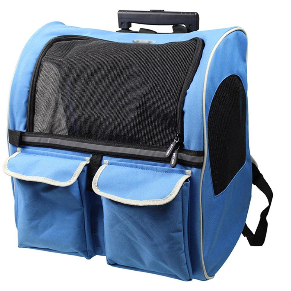C Trolley case C Trolley case XCF WLQ Pet Trolley Case Pet Backpack Backpack Dog Out Backpack