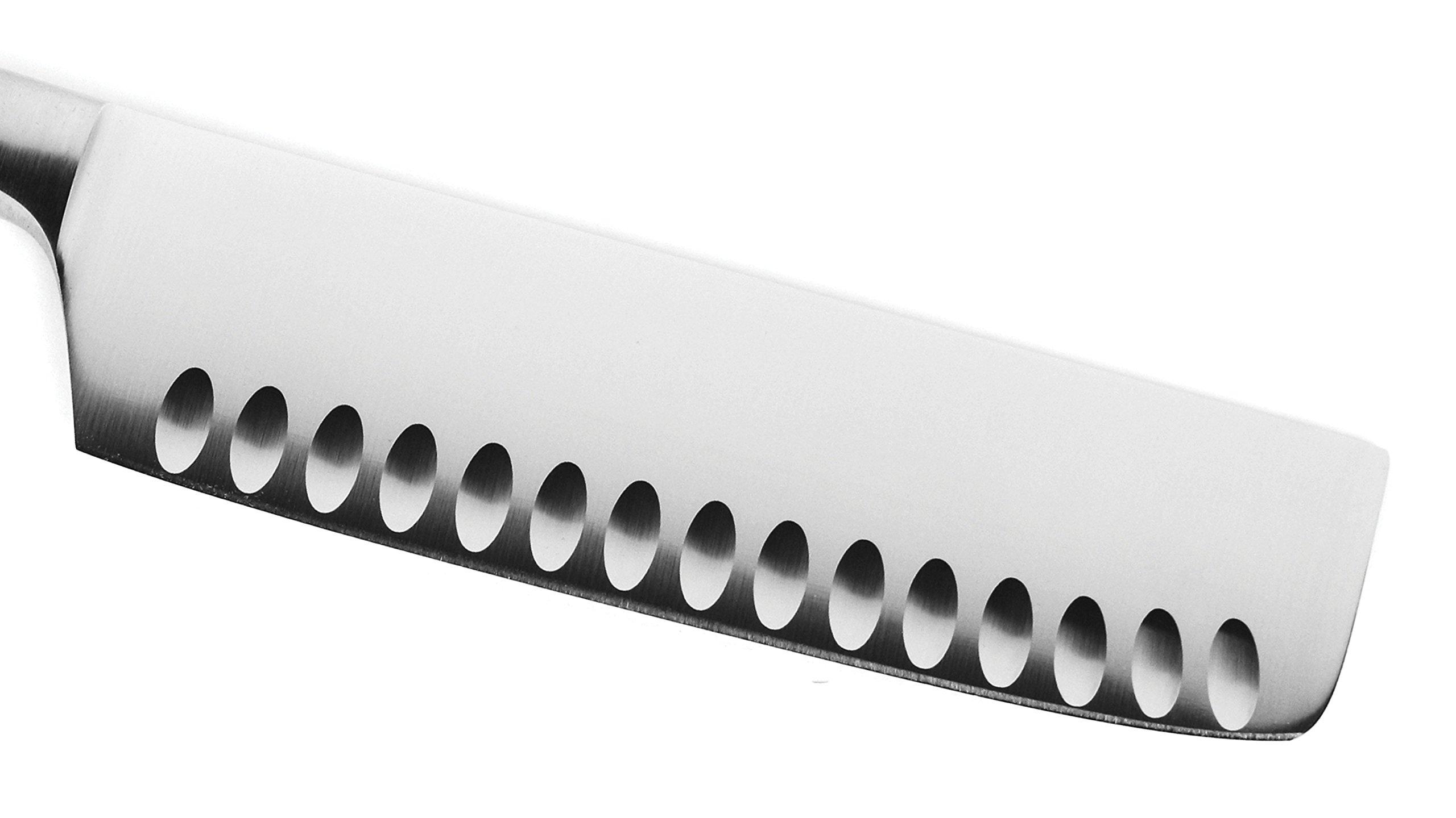 Wusthof Classic Ikon Creme 7-inch Hollow Edge Nakiri Knife, Off-white Handle by Wüsthof (Image #2)