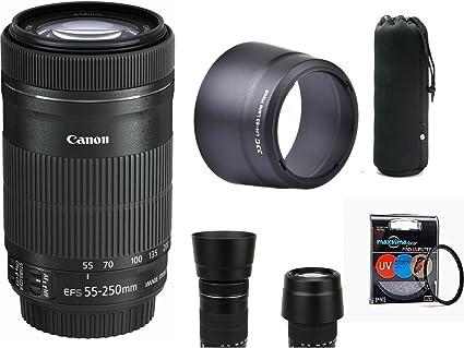 Canon Ef S 55 250 Mm F 4 5 6 Is Stm Objektiv Kit Inkl Kamera