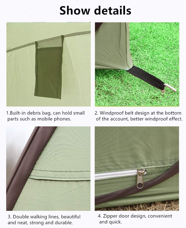 ciclismo ducha HWLY Pop Up Utilitent inodoro playa y vestuario Privacidad port/átil para camping refugio para tienda de campa/ña espacioso.