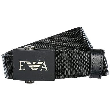 ec925e697e8c Emporio Armani ceinture homme noir EU 90 Y4S258 YFA0V 80001  Amazon.fr   Vêtements et accessoires