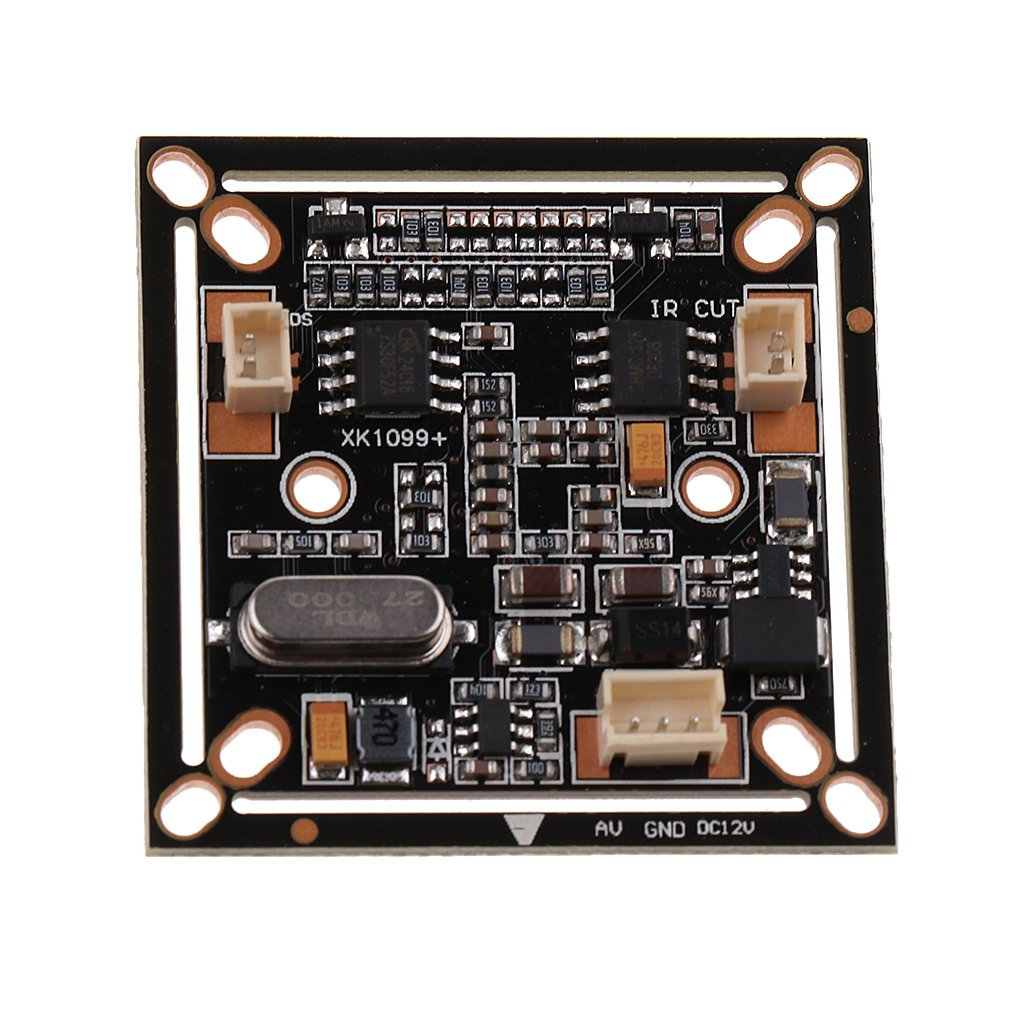 MagiDeal 1/3'' CMOS Camera 1000TVL IR Camera HD CCTV Camera PC1099 CCD Board