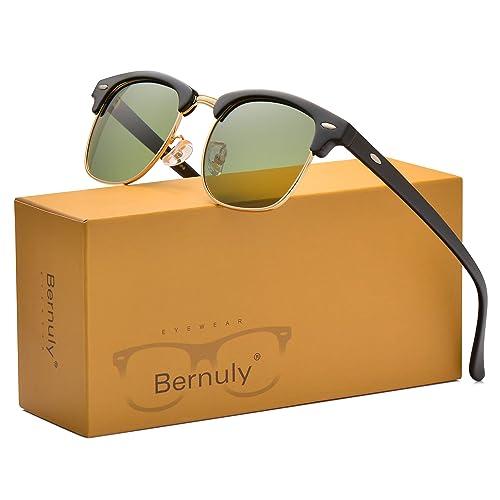 eed700c4f98 Amazon.com  Semi Rimless Mens Sunglasses for Women