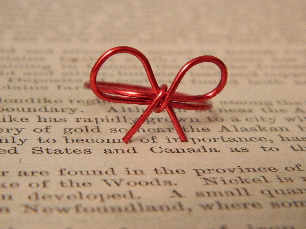 Amazon Com Red String Of Fate Ring Valentines Day Gift Handmade