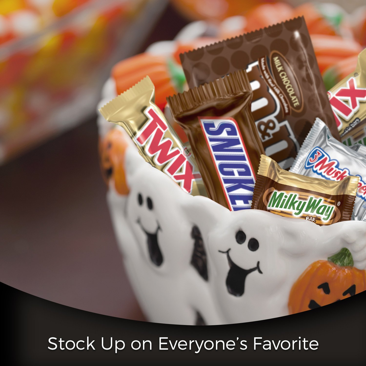 MARS Chocolate Favorites Candy Bars Variety Mix 96.2-Ounce 250-Piece Bag by Mars (Image #4)