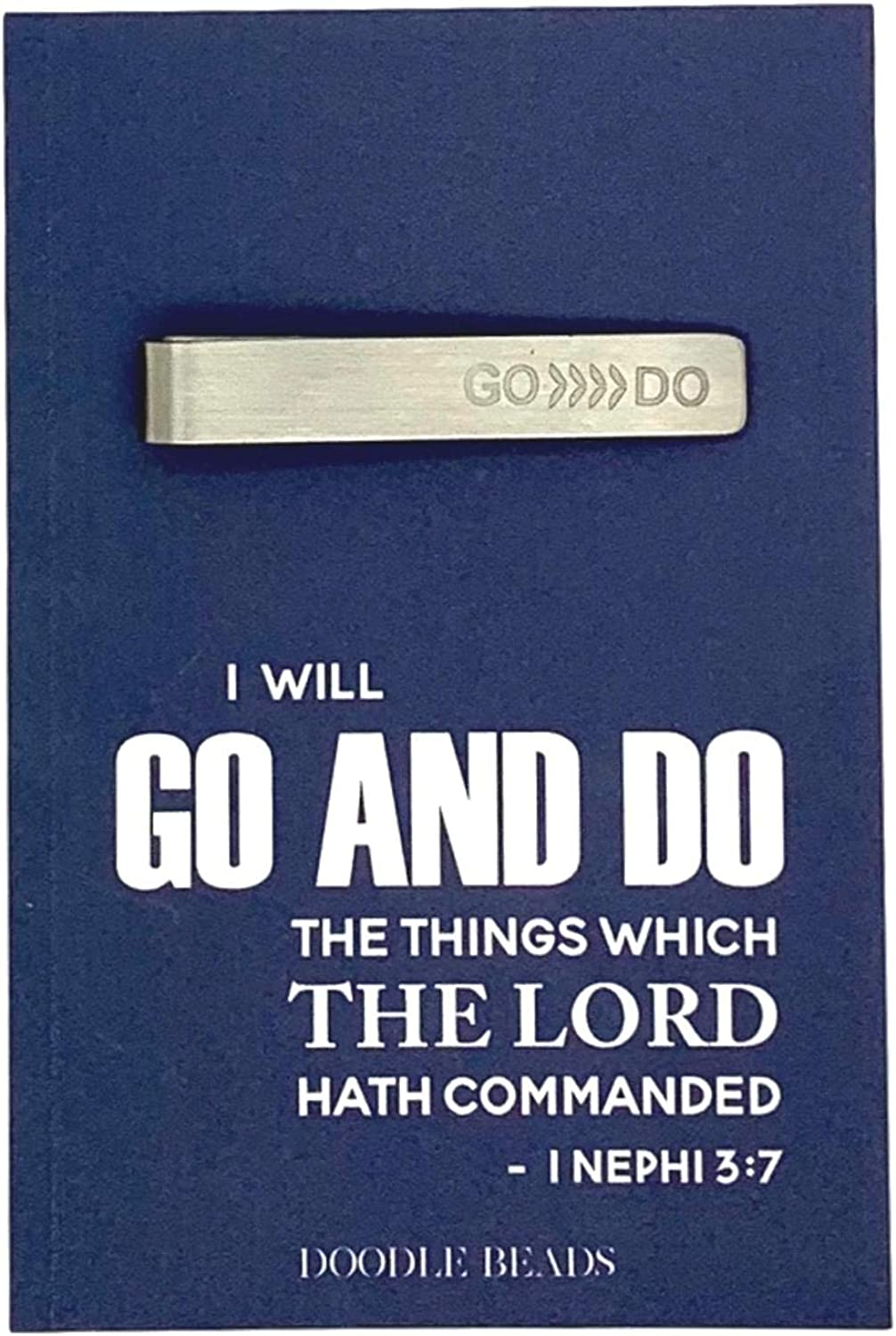 Go and Do Tie Bar, Go and Do LDS Youth Theme Gift, Go and Do Tie Clip