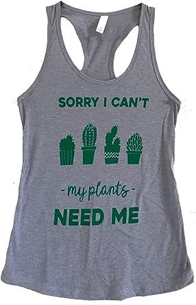 The Bold Banana Women's My Plants Need Me Tank Top