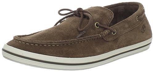 Timberland EKCASCOBAY 1EYE BROW BROWN - Mocasines de cuero hombre: Amazon.es: Zapatos y complementos