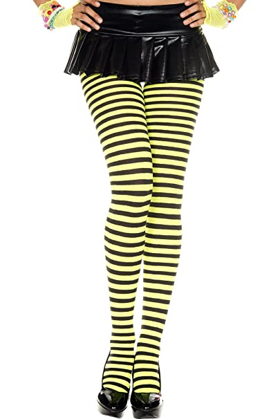 eac54d9b46d9c Amazon.com: Striped Women's Tights: Clothing
