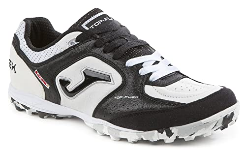 super popular 329ef 9f2b7 JOMA TOP FLEX 702W BIANCO-NERO TURF Scarpe da calcetto outdoor uomo  TOPW.702.TF