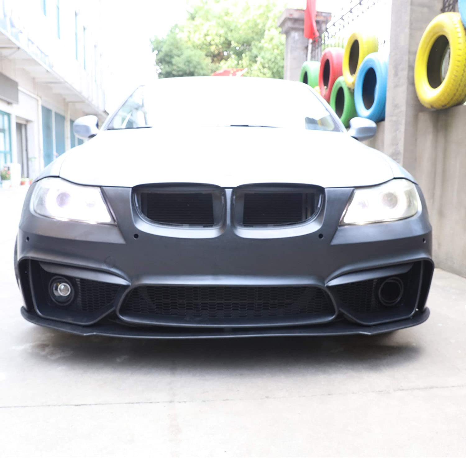 Bumpers PENSUN looks F80 M3 M4 Style Bumper w/PDC Holes For 06-08 ...