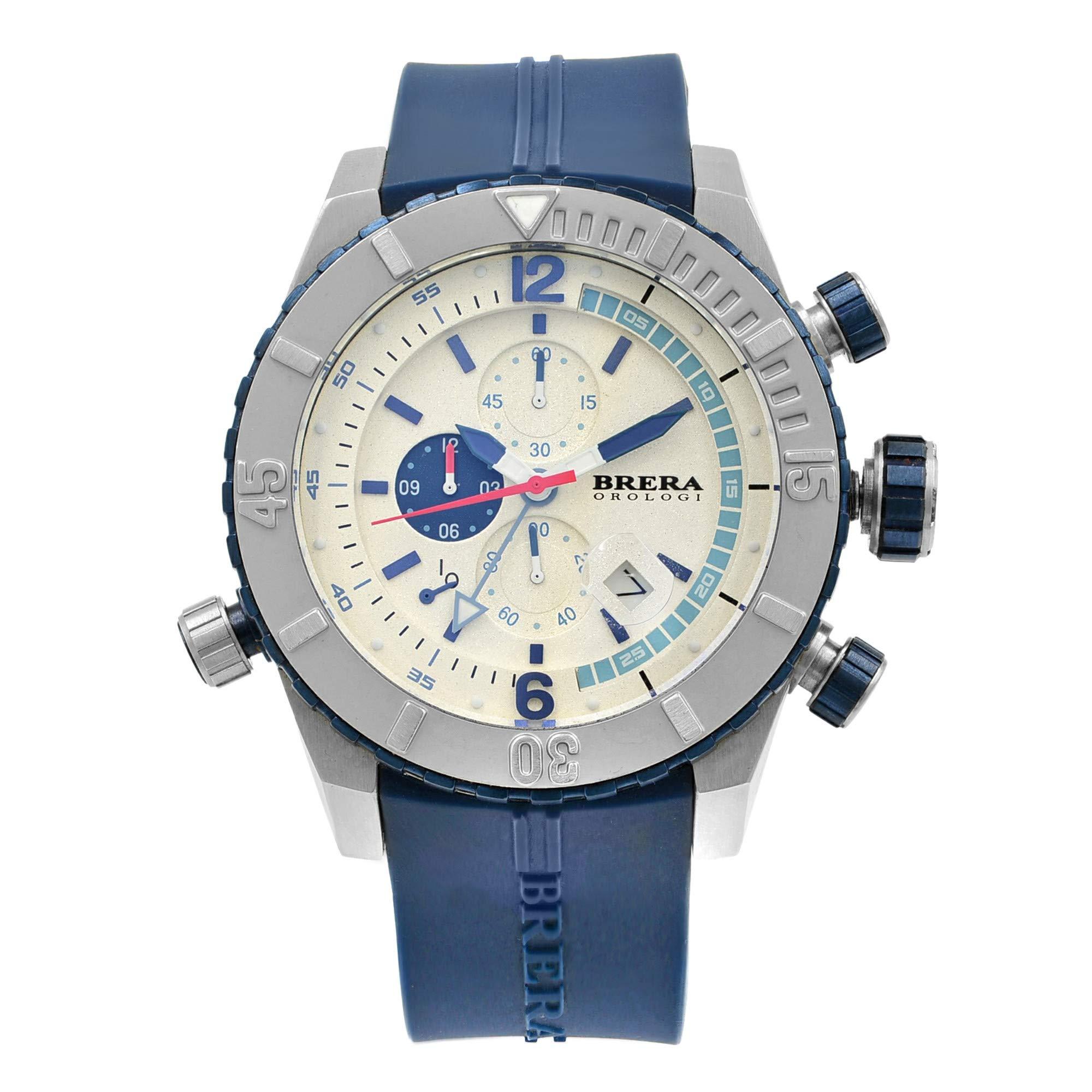 Brera Orologi Sottomarino Quartz Male Watch BRDVC4708 (Certified Pre-Owned)