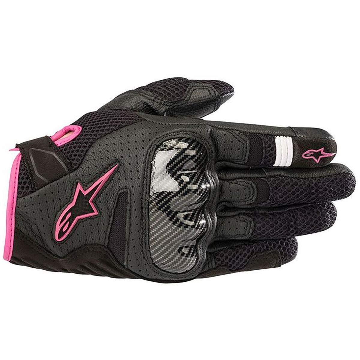 Alpinestars Women's Stella SMX-1 Air V2 Gloves (Large) (Black Fuchsia)