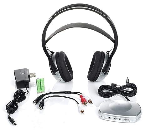 9c19f781cb7 Amazon.com: Tv Listener J3 Rechargeable Wireless Headphones for Tv Listening  System: Home Audio & Theater