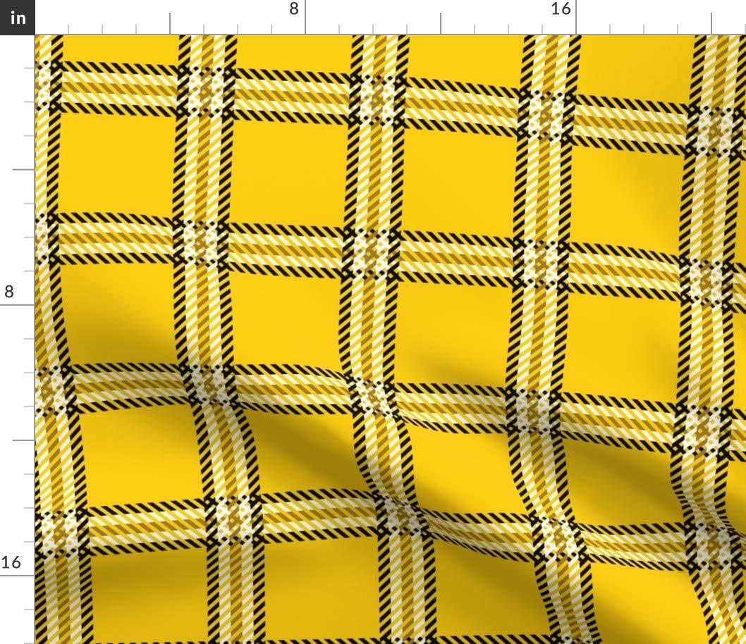 ed413153cfe40 Amazon.com: 90s yellow plaid Fabric - Clueless Costume Cosplay Plaid ...