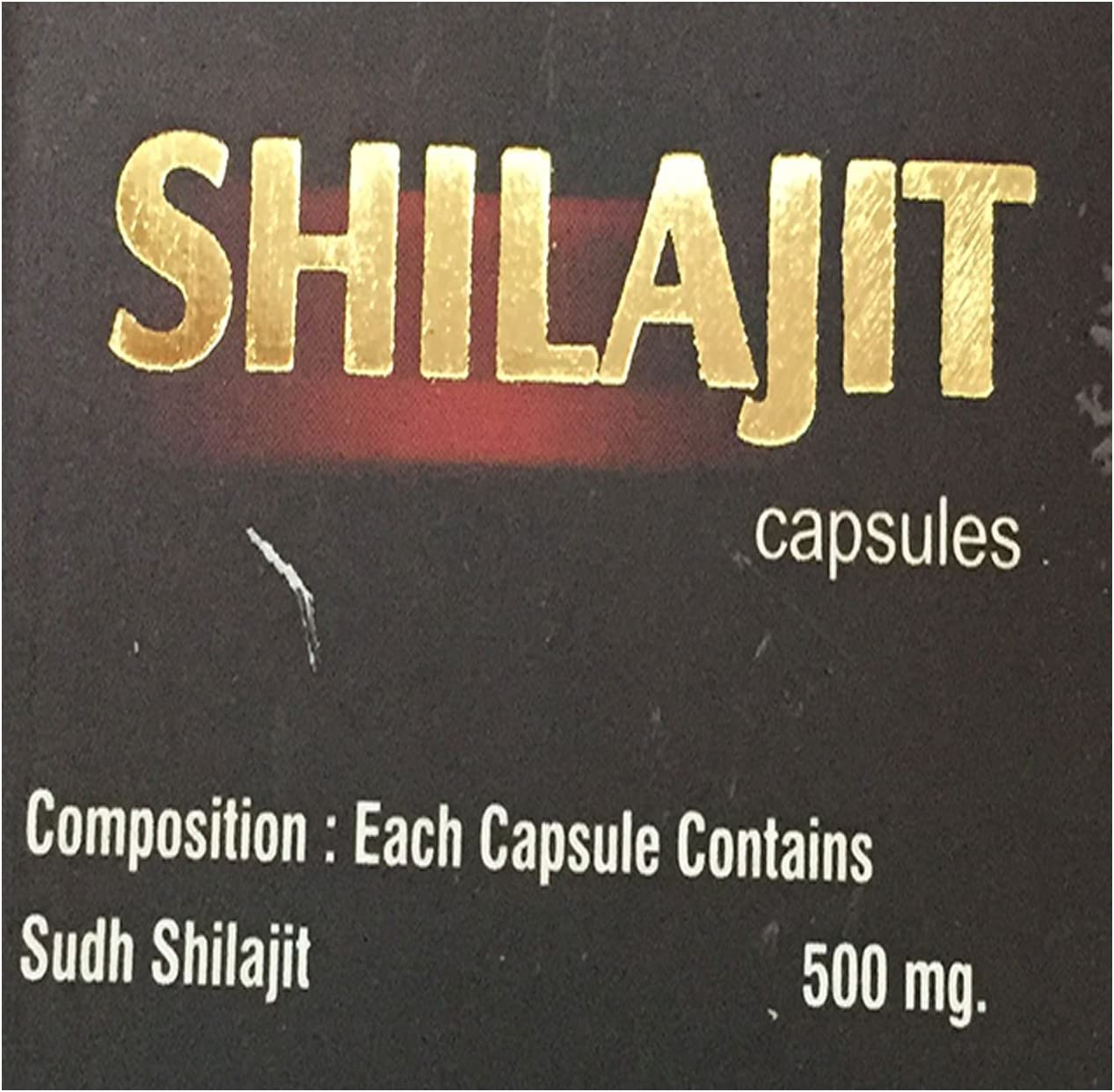 Ayurved Research Foundation Shilajit Capsule Herbal Supplement to Increase Energy and Stamina 4 Packs of 30 Capsules: Health & Personal Care
