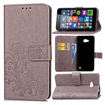 Guran® Funda de Cuero PU para Microsoft Lumia 640 Dual-SIM ...