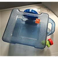 Benbroo 5L/7.5l/12L/18L/22L d'eau Seau de stockage Quartet extérieur de voiture de véhicule à réservoir d'eau minérale de qualité alimentaire Camping Traiteur Table basse