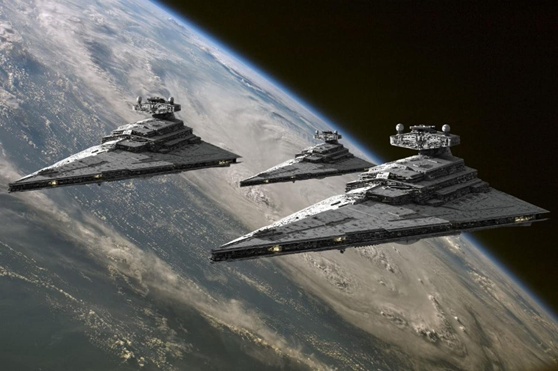 Amazon com: Cartoon world Star Wars Imperial Star Destroyer