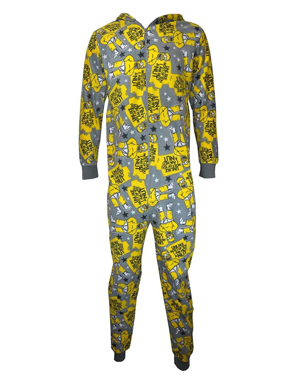 Diseño de los Simpsons pijama, para hombre Homer Wondrous Wall pijama tuerca de: Amazon.es: Ropa y accesorios