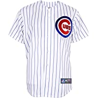 Majestic MLB Chicago Cubs Home Replica Jersey, Weiß
