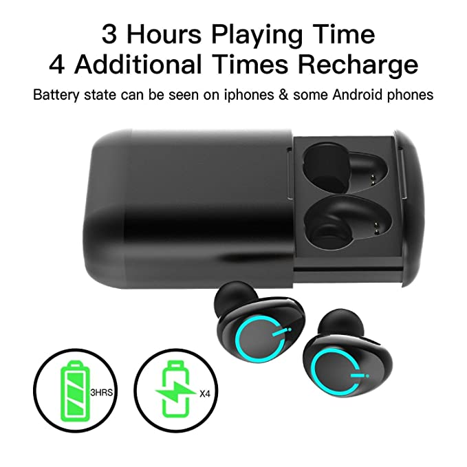 Amazon.com: Asdf Sweatproof Earphone Built-in Microphone Bluetooth 5.0 Wireless Sports Headset Bluetooth Headset: Electronics