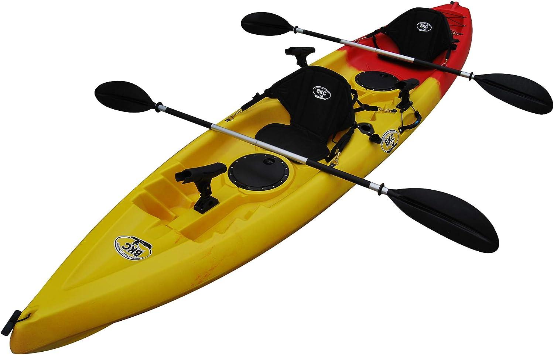 Best fishing kayak: BKC UH-TK181 12-foot 5-inch 2 Person Fishing Kayak