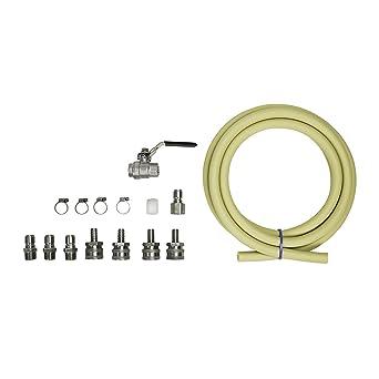 """1 STÜCKE 1//2 /""""NPT Homebrew Hardware Pump Fitting Bier Wasser Rohrverbinder Teile"""